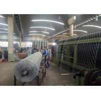Wholesale Renault Cushions Gabion Wire Mesh Machine 120*150mm Mesh Size Triple Twists from china suppliers