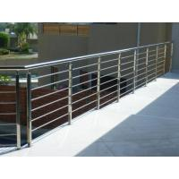 Wholesale House stainless steel balcony railing design & stainless steel inox rod railing from china suppliers