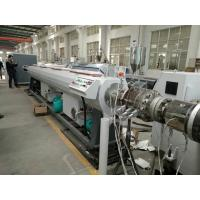 Quality SJZ Series Conic Dual Screw Extruder PVC Drain Water Pipe Extrusion Machine for sale