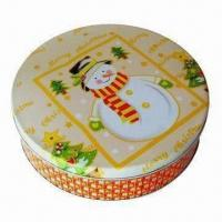 Wholesale Gift Tin Box, Measures Ø230x58mm from china suppliers