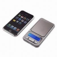 Wholesale iPhone-shaped Digital Pocket Scale, Measuring 115 x 61 x 15mm from china suppliers