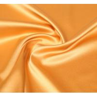Wholesale Lean Textile polyester shiny stretch satin fabric from china suppliers