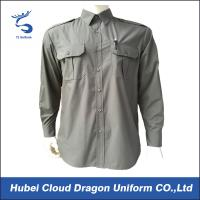 Buy cheap Aircraft Engineer Security Guard Shirts Work Wear Shirt For Men Customized Color from Wholesalers
