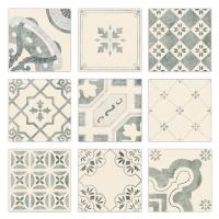 China Fashion Patterned Concrete Kitchen Wall Cladding Tiles Hot Bordered 20x20cm on sale