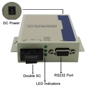 Wholesale GM218SM-C20 Serial to Fiber Converter RS232 to Fiber Converter Single mode Duplex 1310nm 20KM SC from china suppliers