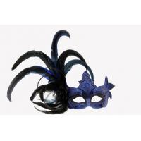 Wholesale Halloween Plastic Silver Feather Masquerade Mask For Princess from china suppliers
