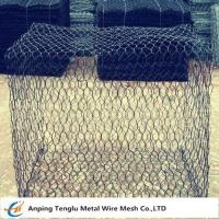 Wholesale Woven Gabion Box|Gabion Basket With 60x80mm Hexagonal Mesh Double Twisted from china suppliers