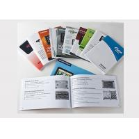 16 Page Color Booklet Printing A4 Brochure Printing Matt Lamination OEM Available