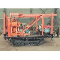 Wholesale High Efficiency Water Well Drill Rig 100 M Depth For Well Trailer Type from china suppliers