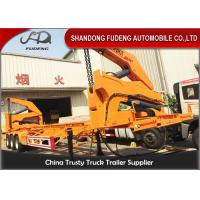 Wholesale 40ft Side Loader Trailer Chassis Truck Trailer , China Box Loader Side Lifter Truck from china suppliers