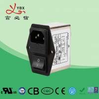 Wholesale Yanbixin Medical Double Fuse EMI Power Line Filter With Socket Stable Performance from china suppliers