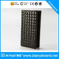 Wholesale Bulk Wholesale Price Fashion Man Leather Wallet with Custom Logo from china suppliers
