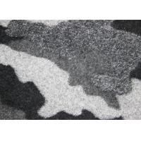 Buy cheap Camouflage Pattern Double Faced Wool Fabric For Garment Dark & Grey Color from Wholesalers