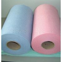 Wholesale Face Mask Spunlace Nonwoven Fabric 100% Modified Fibre Material For Cosmetics / Wet Tissue from china suppliers