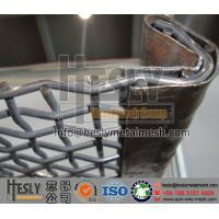 Crimped wire mesh for mining sieving