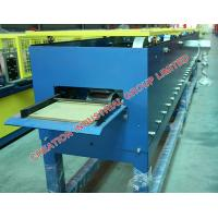 Wholesale Horizontal Galvanised Steel Roof Rain Gutter Roll Forming Machine from china suppliers
