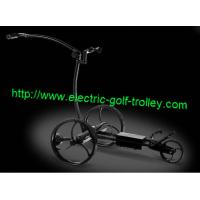 Wholesale Remote control Stainless steel golf trolley of lithium battery from china suppliers
