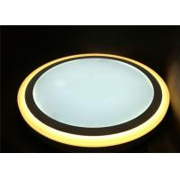 China Surface mounted 36W+36W double color round  LED panel light  Φ390mm / H40mm on sale