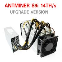 Wholesale Asic Mining Machine Antminer S9i-14.5 Th/s Scrypt Asic Miner 1365W With Power Supply from china suppliers