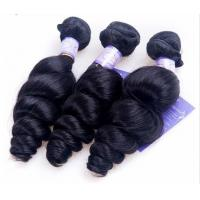 """Lise Monde Hair Peruvian Loose Wave 1Piece 100% Human Hair Weave Bundles Double Weft Non Remy Hair Extensions 12""""-28"""""""