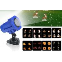 Wholesale 8 In 1 Cartoon Slides LED Projector Lights Christmas Halloween Party Wedding Outdoor Stage Decorative Lighting from china suppliers
