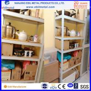 Q235 Steel Cost-Effective Slotted Angle Shelving / Light Duty Shelf