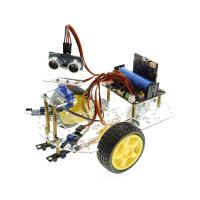 Wholesale Multi - Function Robot Car Kits Ultrasonic Sensor Assembly With Tutorial from china suppliers