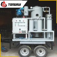 China Small Waste Oil Treatment Plant , Double Stage Cable / Transformer Oil Treatment Machine on sale