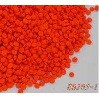 Wholesale Fluorescence Orange Rubber Color Masterbatch Suitcase Material 170 ℃ Heat from china suppliers