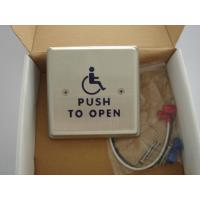 "Wholesale 4.5"" Round Push To Exit Switch / Handicap Accessible Door Openers With Disabled Logo from china suppliers"