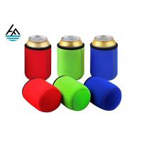 Wholesale Custom Foam Neoprene Can Holder / Mutispandex Personalized Beer Can Cooler from china suppliers