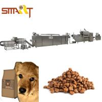 Wholesale Extrusion Method Dog Cat Food Extruder Production Line Also Can Make Fish Feed from china suppliers