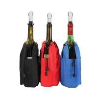 Wholesale gel wine bottle cooler/wrap pvc liquid bag for champagne 75mL wine bottle cooler neoprene bottle cooler/neoprene drink i from china suppliers