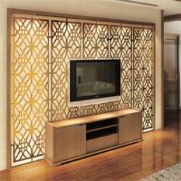 China Modern design high quality metal decorative room screen TV background wall screen price on sale