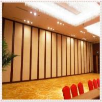 China Ballroom Movable Wall Acoustic Folding Sound Proof Partition For Hotel on sale