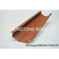 Wholesale roofing tile hottest selling Classic colorful stone chip coated metal roof tile sheet valley tray from china suppliers