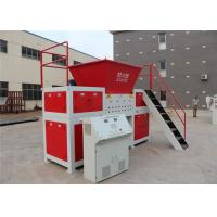 China High Capacity Double Shaft Shredder Machine , Small Plastic Shredder Machine  Reverse Functions on sale