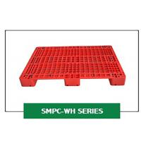 Wholesale Grid Steel Rackable Reinforced Plastic Pallets 1200*1000*150 Mm Single Injection Mould from china suppliers