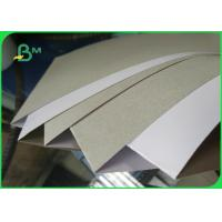 China Clay Coated News Back paper One Side Coated 250gsm Duplex Board Packaging on sale