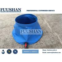 Fuushan 20000L PVC Foldable Onion Shape Water Storage Bladder for Firefighting