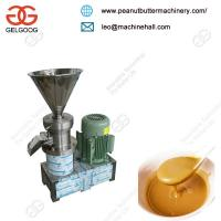 China Good Quality Commercial Peanut Butter Grinder Machine for Stainless Steel Grinding Wheel on sale