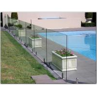 Wholesale Exterior stainless steel spigot glass railing/ glass balustrade with free design from china suppliers