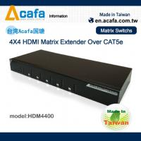 Wholesale 4 in 4 out Matrix HDMI 1080P  Switch Extender over IP with RS232 and IR from china suppliers