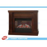 Decorative brown mdf european fireplace heating for home for European homes fireplaces