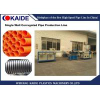 Wholesale Single Wall PVC Pipe Making Machine , 12-50mm Diameter PE Pipe Production Line from china suppliers