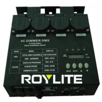 China Professionnal DMX Dimmer Pack 4CH 5Pin 16A AC 220 - 240V , stage lighting dimmer packs on sale