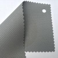 fireproofing sun shade screen mesh fabric UV Resistant in gray color
