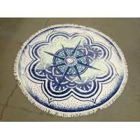 Wholesale Small MOQ 100% Cotton Cheap Price China Beach Towel Factory  custom beach towel round from china suppliers