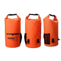 Wholesale 20l Heavy Duty Dry Storage Bags 0.5mm Thickness With Mesh / Front Zipper Pocket from china suppliers