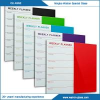 Buy cheap New Fashoin Stylish Glass Weekly Planner from Wholesalers